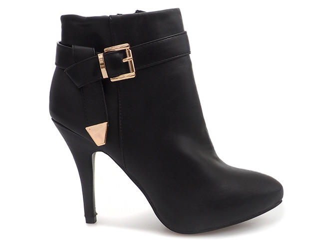 Czarne buty sportowe damskie Street style