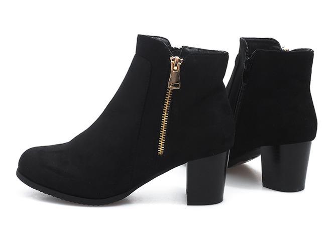 Czarne sneakersy damskie Quito