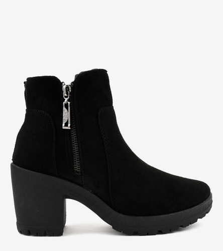 Czarne sneakersy sportowe Miranda